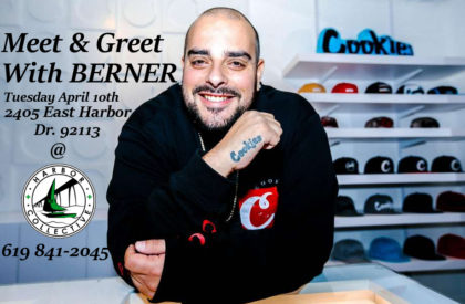 Meet and Greet with Berner