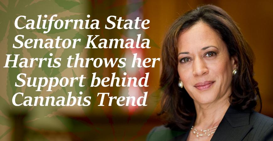 Kamala Harris Supports Marijuana