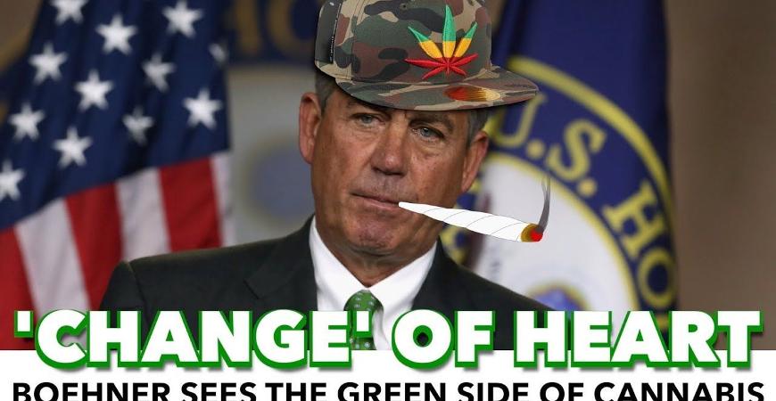 Legalization of Marijuana Gets New Champion in John Boehner
