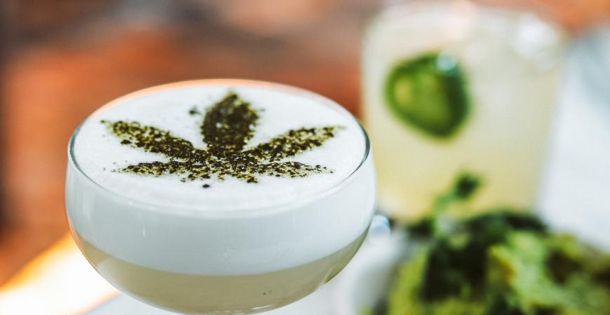 THC CBD Infused Cannabis Drinks