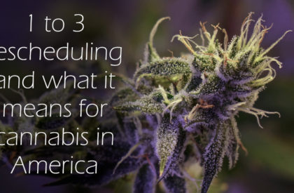 1 to 3 Cannabis Rescheduling and What it Means