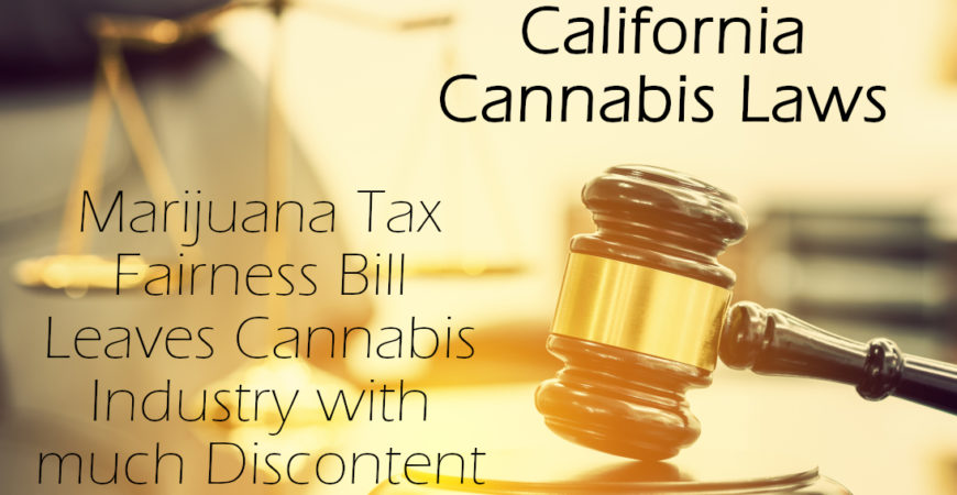 Governor Newsome's California Cannabis Laws