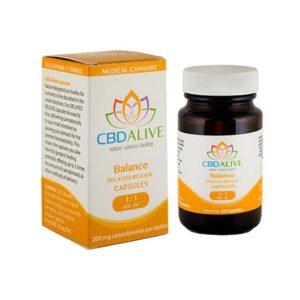 Balanced Delayed-Release Capsules 1:1 CBD/THC