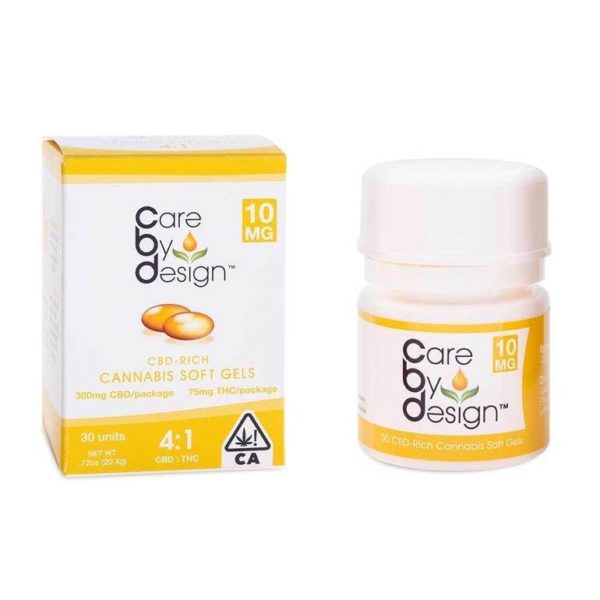 CBD Soft Gels 4:1 CBD/THC - 30 Soft Gels