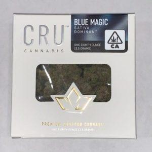 CRU Cannabis Blue Magic Sativa Flower