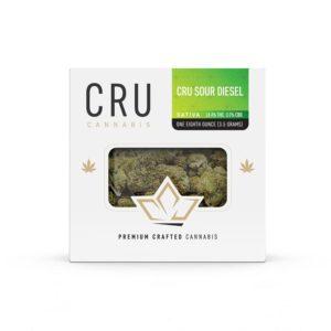 CRU Sour Diesel Sativa Flower