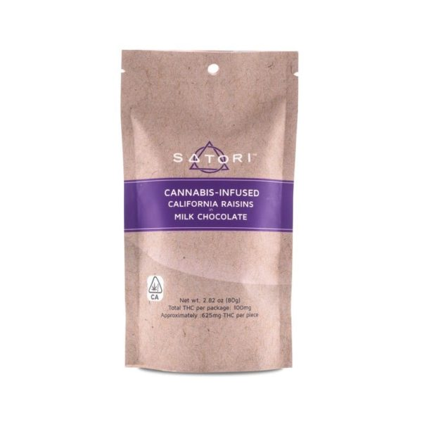 California Raisins in Milk Chocolate 100mg