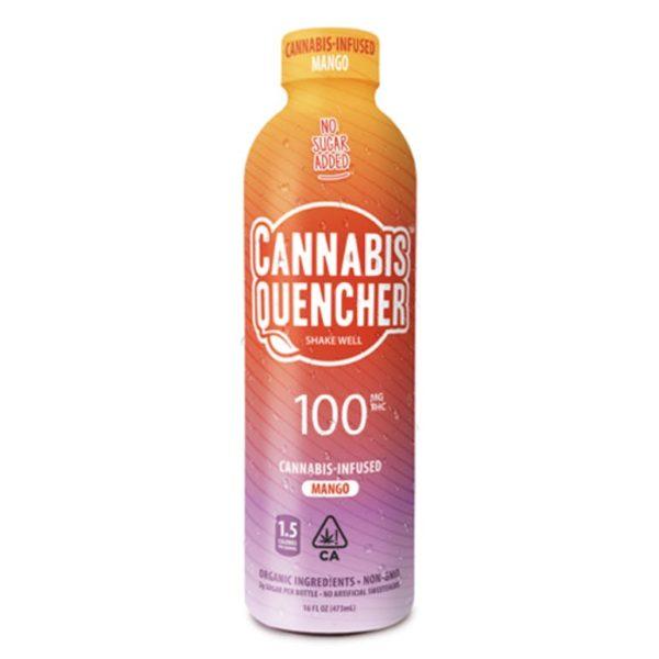 Cannabis Quencher   Mango 100mg THC