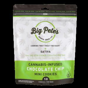 Chocolate Chip Mini Cookies Sativa 100mg