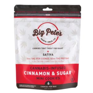 Cinnamon & Sugar Cookie Sativa 60mg (6pk)