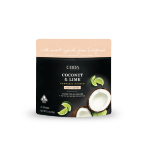 Coconut and Lime Fruit Notes CA