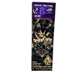 Fiddler's Greens | ACDC Rogue Tincture 1oz (20:1)