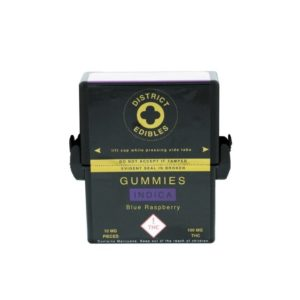Gummies - Blue Raspberry (Indica) 100mg