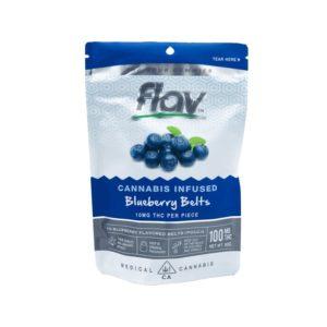 Gummies - Blueberry Belts 100mg