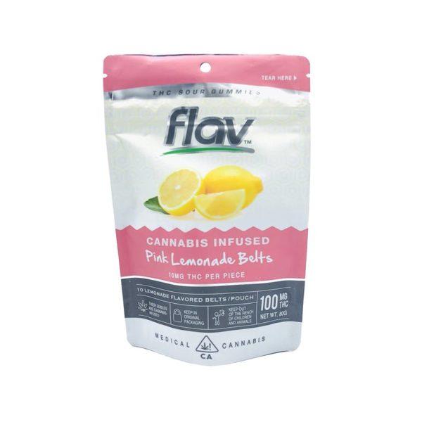 Gummies - Pink Lemonade Belts 100mg