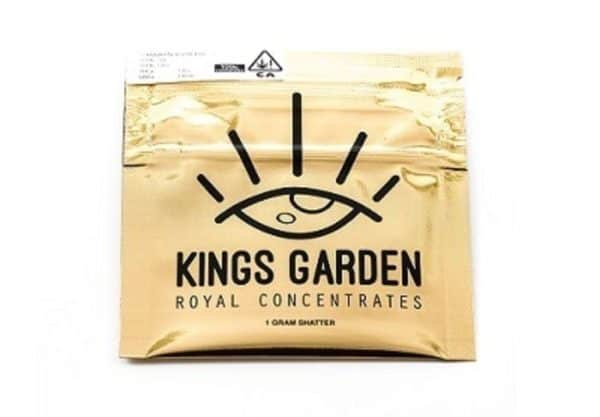 Kings Garden Slurricane Live Shatter