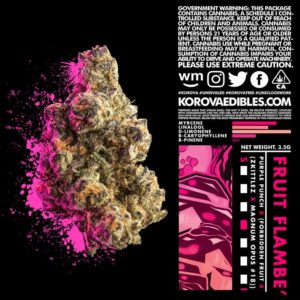 Korova Fruit Flamble Hybrid Flower