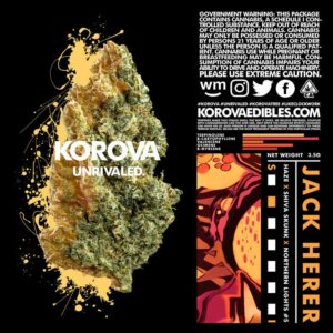 Korova Jack Herer Sativa Dominant Flower