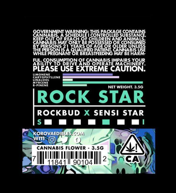 Korova Rock Star Indica Dominant Hybrid