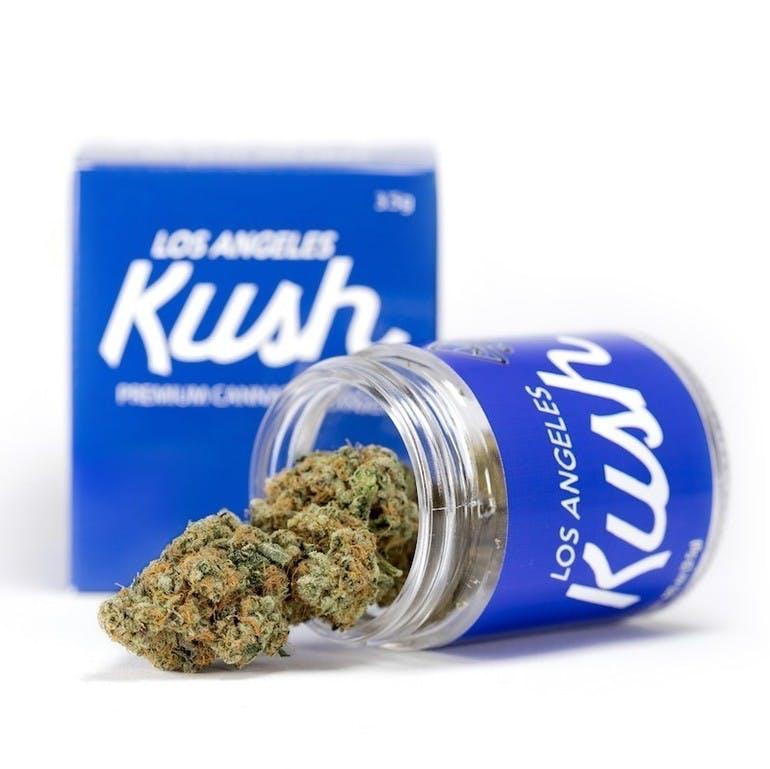 La Kush Blue Box Indica Flower Harbor Collective Mmcc