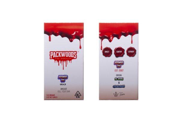 Packwoods RYO Kit - Atomic OG Indica Flower