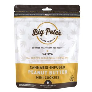 Peanut Butter Cookies Sativa 60mg (6pk)