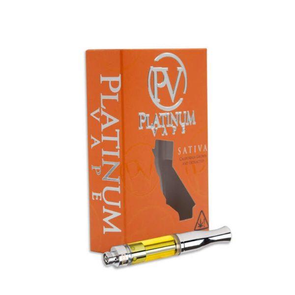 Platinum Vape - .5mL Strawberry Cough Cartridge