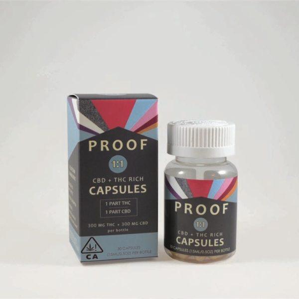 Proof | 1:1 CBD/THC Capsules