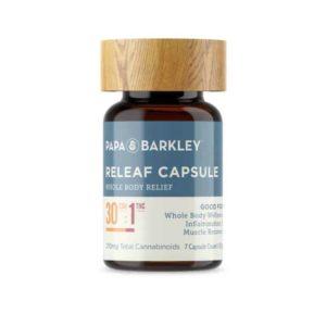 Releaf Capsules 30:1 CBD:THC 7CT