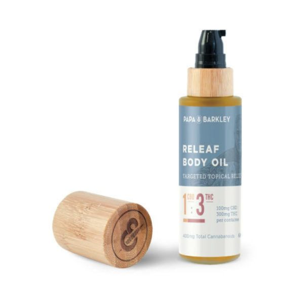Releaf™ Massage Oil 1:3 CBD:THC