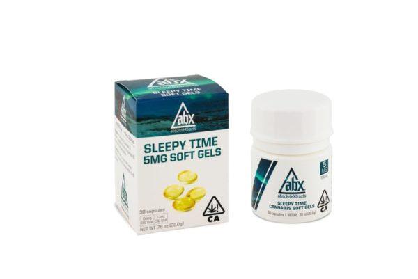 Sleepy Time 5mg THC Soft Gels (30ct)