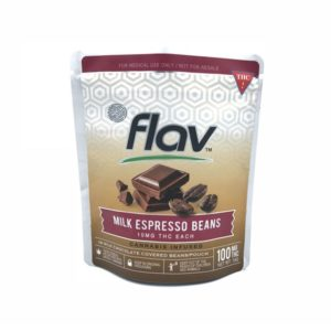 Snack Pouch - Milk Espresso Beans 100mg